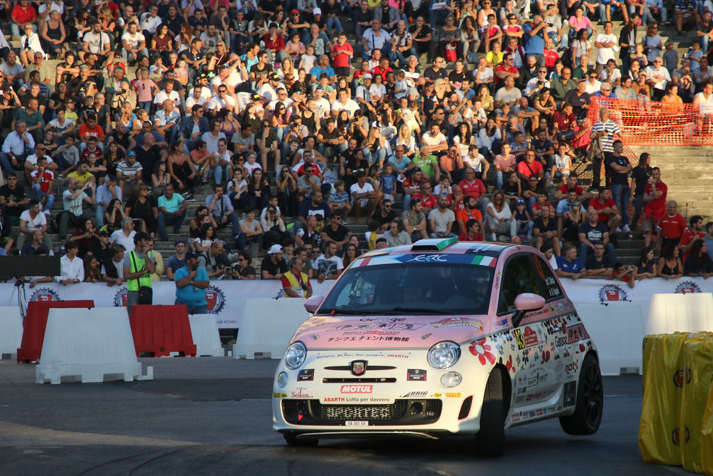 43 during the 2017 European Rally Championship ERC Rally di Roma Capitale,  from september 15 to 17 , at Fiuggi, Italia - Photo Jorge Cunha / DPPI