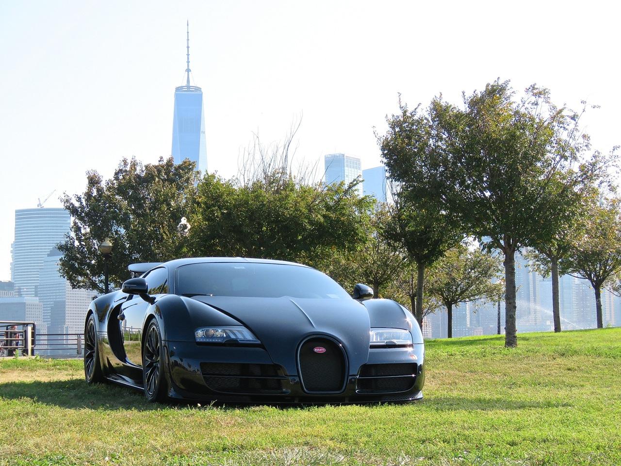 Bugatti Veyron SS NYC