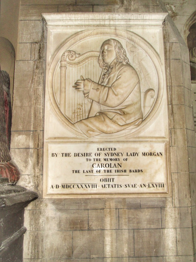 St Patricks Cathedral Dublin Carolan Last Bard