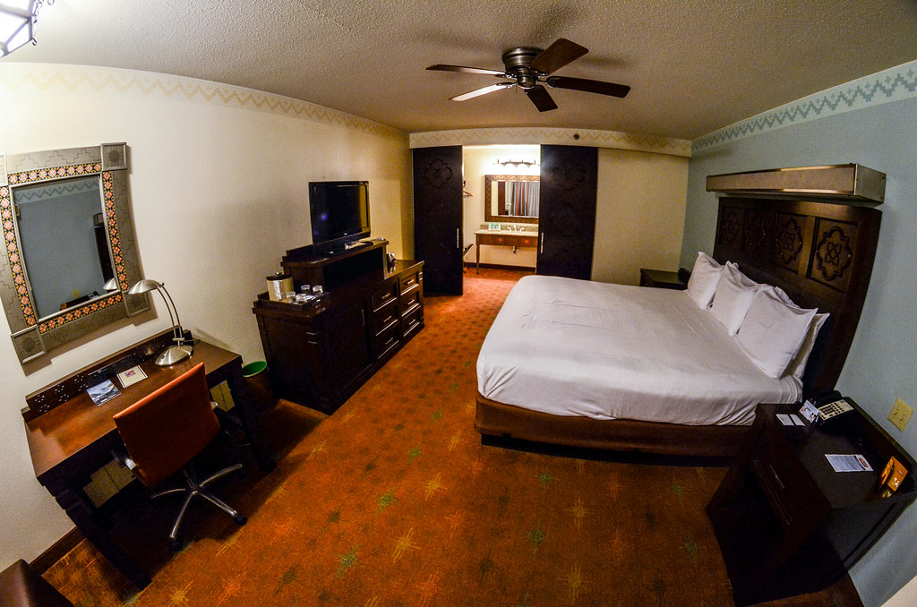 Coronado Springs room fisheye