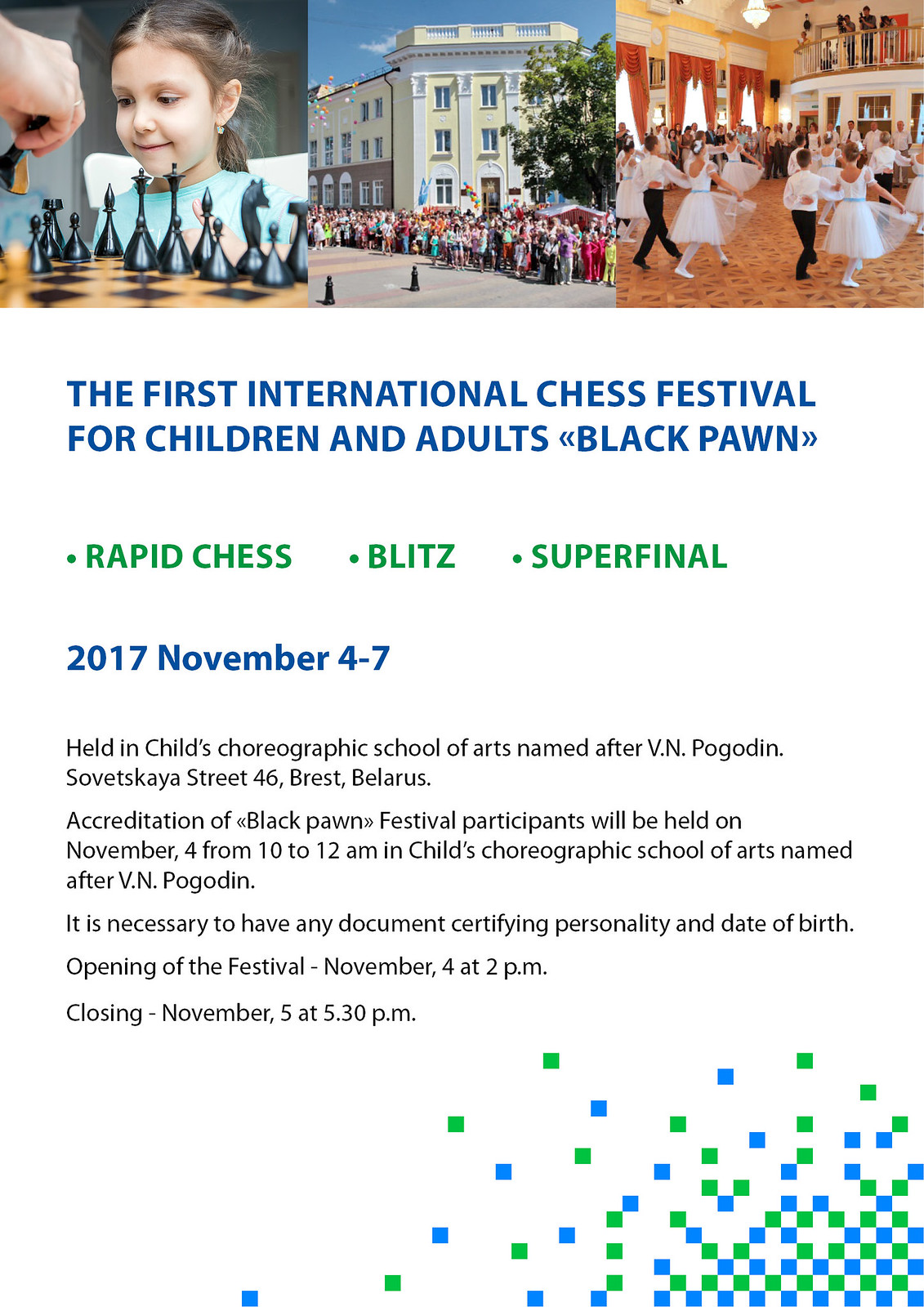 chess festival Black pawn2