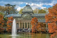 Otoño en el Palacio de Cristal