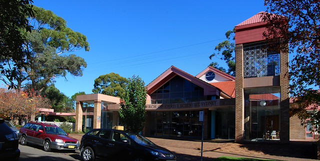 Church of Christ, Scientist, Chatswood, Sydney, NSW.