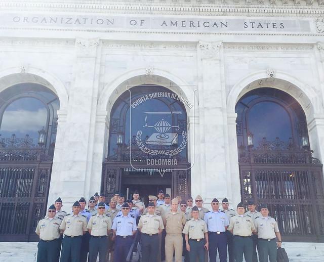 Visita a la Organización de Estados Americanos OEA (Washington)