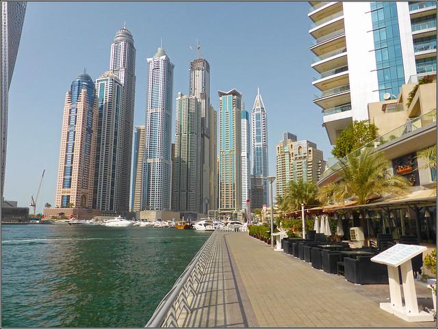 Marina Walk, Dubai Marina, Panasonic DMC-TZ40