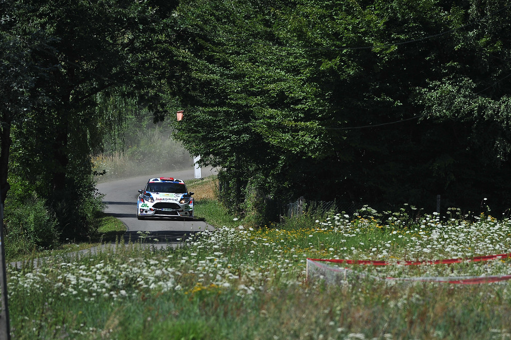 22 SZEJA Jaroslaw (CZE) SZEJA Marcin (POL) Ford Fiesta R5 action during the 2017 European Rally Championship Rally Rzeszowski in Poland from August 4 to 6 - Photo Wilfried Marcon / DPPI