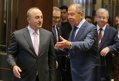С.Лавров и М.Чавушоглу | Sergey Lavrov & Mevlut Cavusoglu