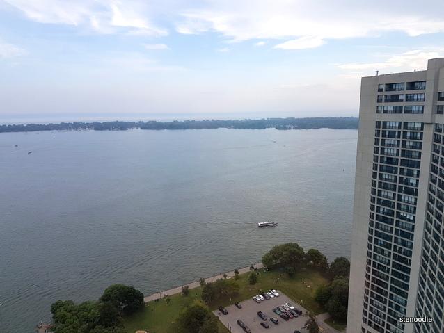 Westin Harbour Castle Hotel 34th floor view