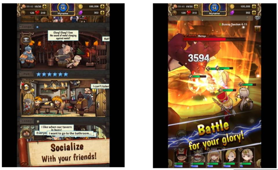 Playwith Interactive lanzó Fabled Heroes para iOS y Android