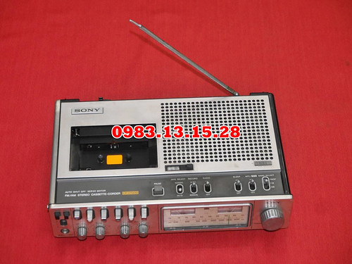 Cassette SONY CF-2700D FM_AM AUTO SHUT OFF