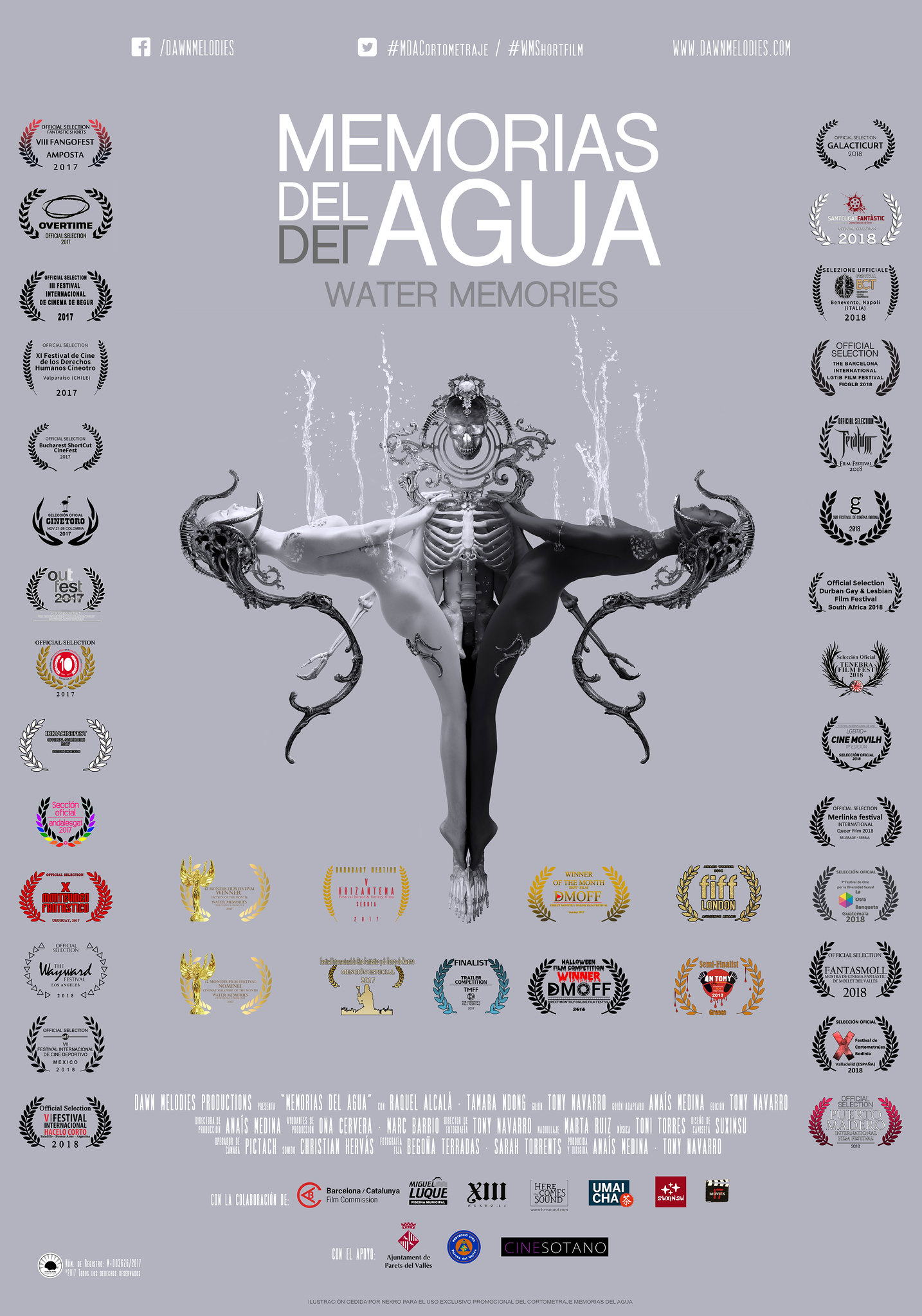Memorias del Agua/ Water Memories - Official Poster