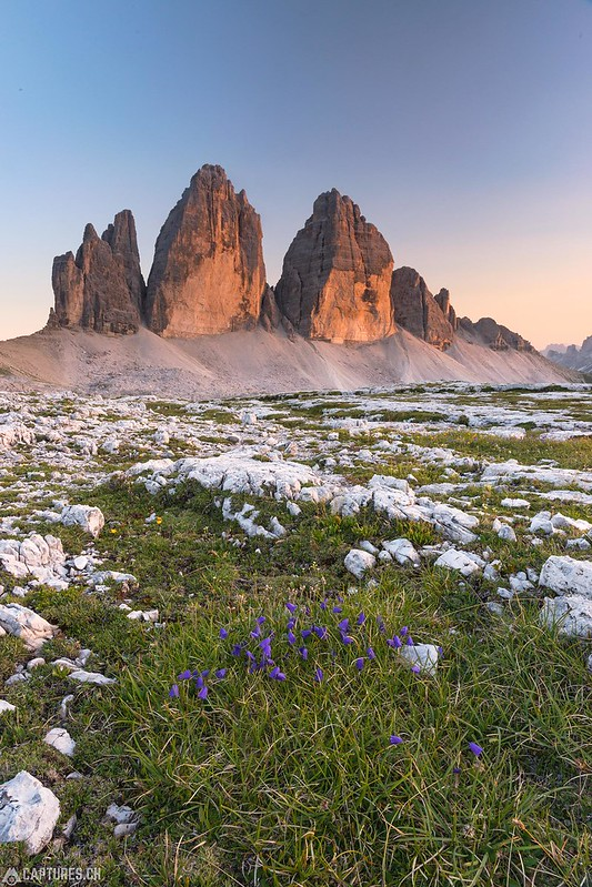 Sunset - Tre Cime