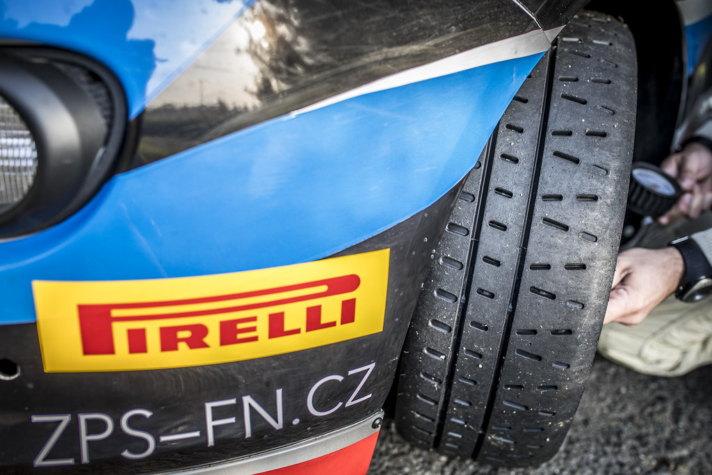 Pirelli ambiance during the 2017 European Rally Championship ERC Barum rally,  from August 25 to 27, at Zlin, Czech Republic - Photo Gregory Lenormand / DPPI