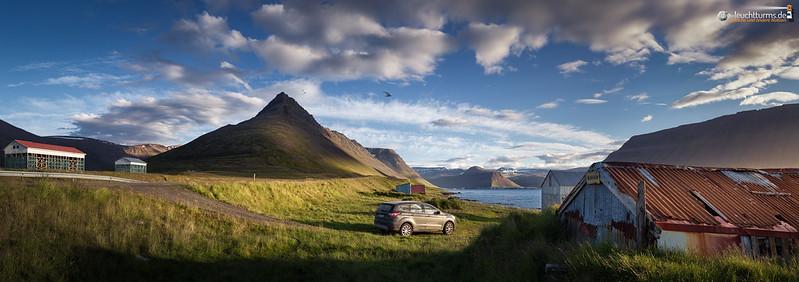 On the southern bank of  Ísafjörðardjúp