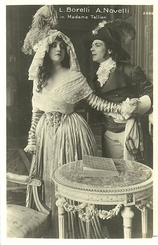 Lyda Borelli and Amleto Novelli in Madame Tallien