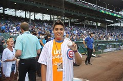 Follow Us And Share This Post For A Chance To Throw First Pitch At The Cubs Game