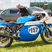 Lydden Hill August 2016 Paddock Triumph Trident Rob North No 157 001A