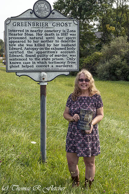 Greenbrier Ghost Historical Marker