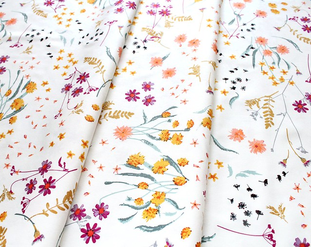 Art Gallery Fabrics Spices Fusion Blossom Swale Spices