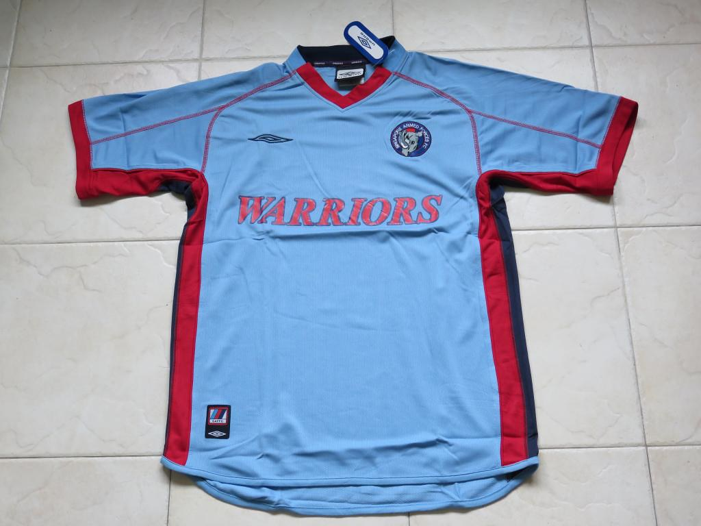 ba5ec836a Details about Singapore Armed Forces FC Warriors Home Jersey Singapore  League Football Shirt