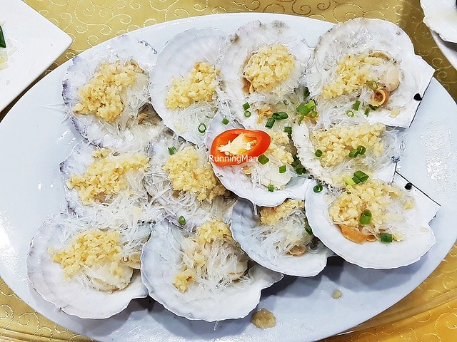 Fresh Scallops Steamed With Garlic & Glass Vermicelli