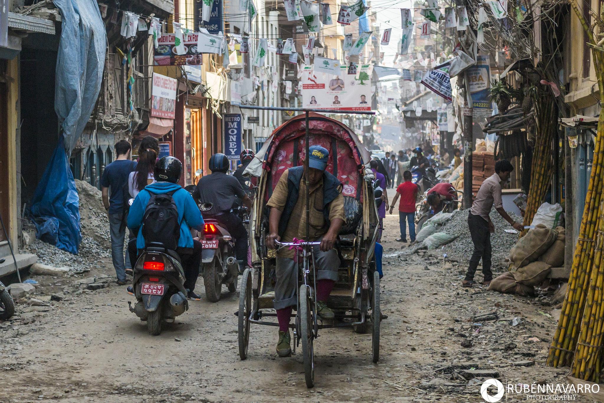 viajando por el mundo - Katmandú