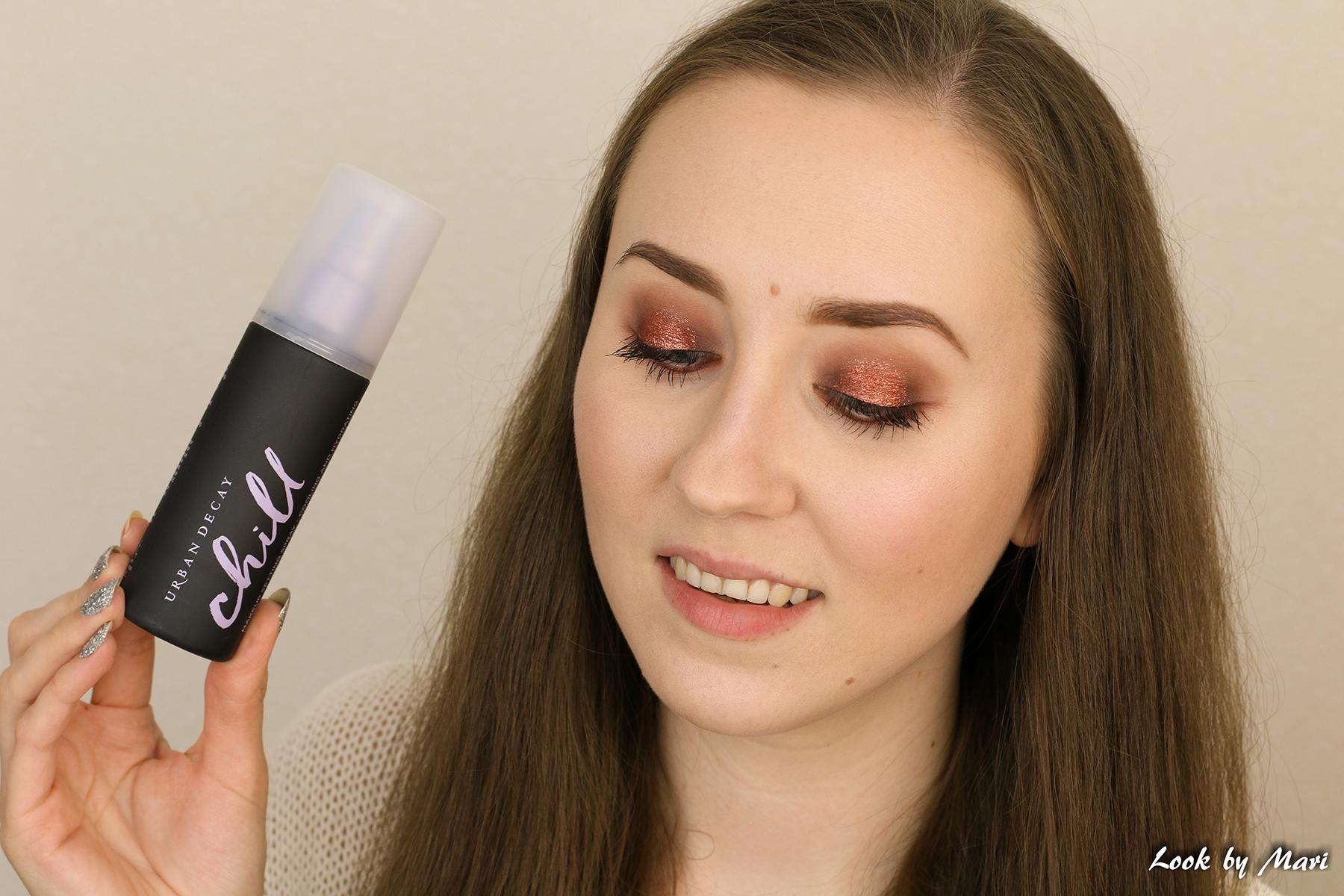 14 Urban decay chill makeup setting spray review kokemuksia price