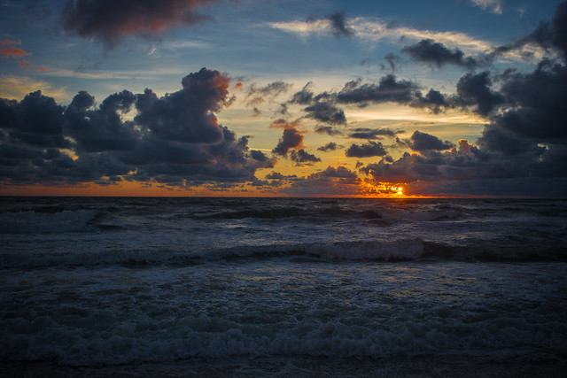 Florida Gulf Sunset (Explore 8/17), Canon EOS 6D, Canon EF 28-80mm f/3.5-5.6 USM IV
