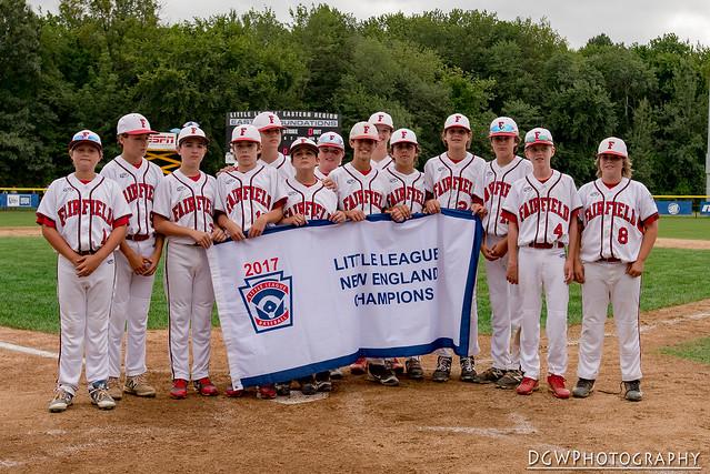 2017 Little League Baseball New England Regional Championship game