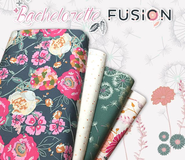Art Gallery Fabrics Bachelorette Fusion Collection by AGF Studio