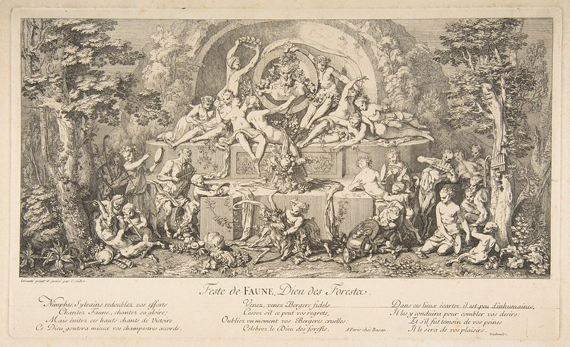 Claude Gillot - Feast of Pan