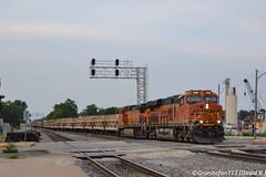BNSF 8193 GE ES44C4