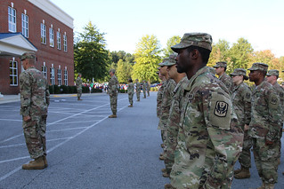 NC National Guard hosts deployment ceremony for Aviators