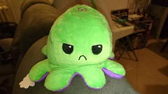 Reversible Octopus Mini - Angry