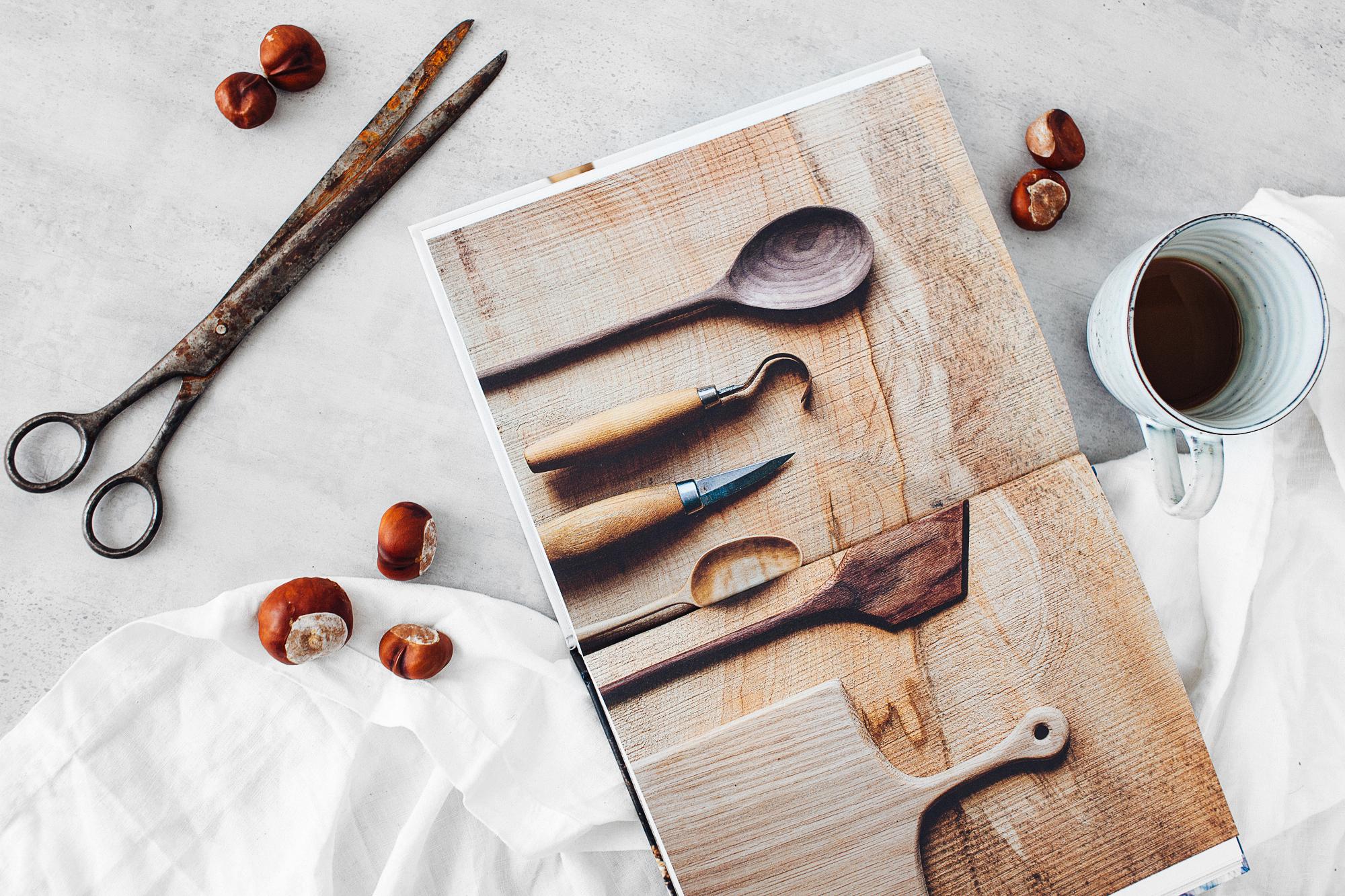 Tälja och snida i trä, verktyg