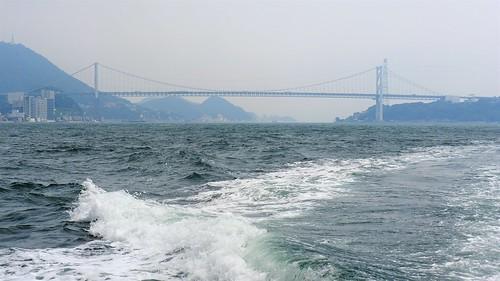 関門大橋 関門海峡