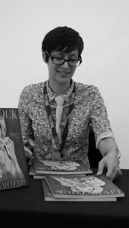 Edinburgh International Book Festival 2017 - Hannah Berry & Sarah Laing 07