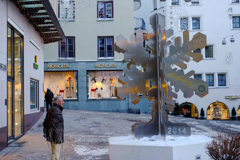 Snowflake monument