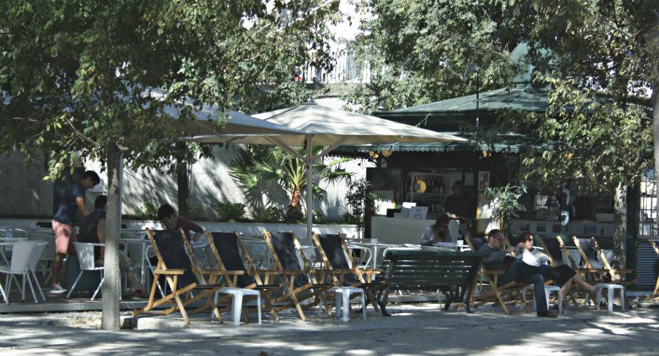 Kiosken in Lissabon, leuke terrassen Lissabon | Mooistestedentrips.nl