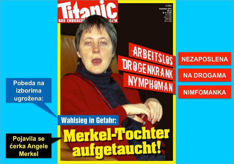 Pojavila se ćerka Angele Merkel