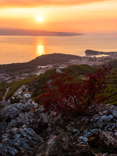 Sunset up the Mountains, Croatia