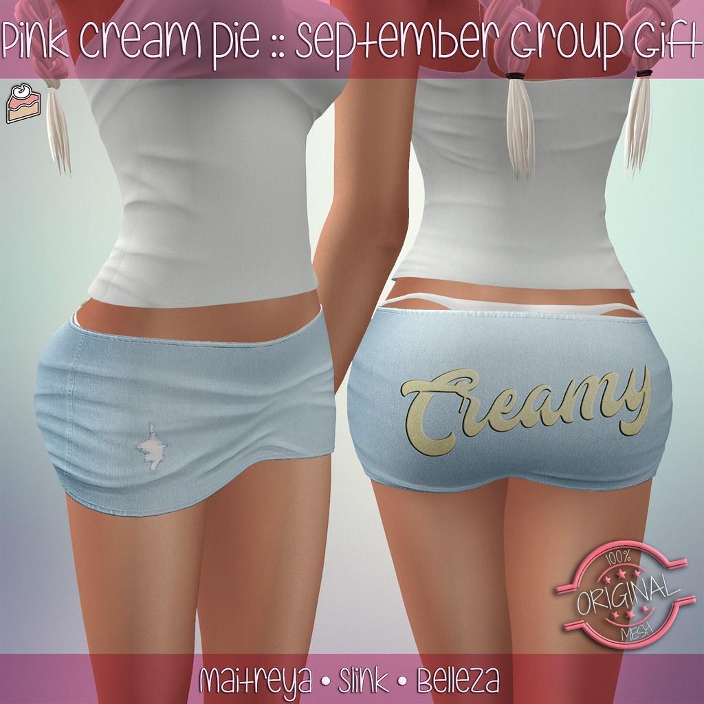 September Group Gift :: Pink Cream Pie - SecondLifeHub.com