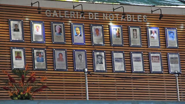 Inauguración Galería de los Notables, Suchitepéquez 2017