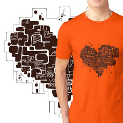 print heart-maze