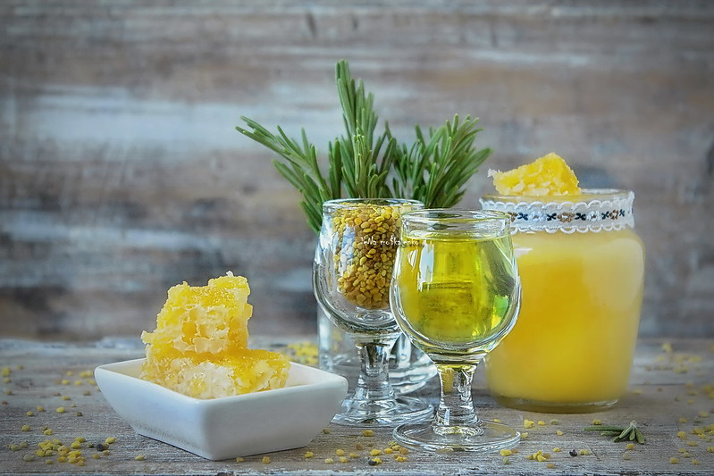 ...honey liqueur