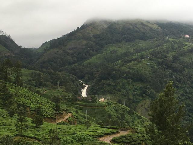 a view of Attukad Waterfalls