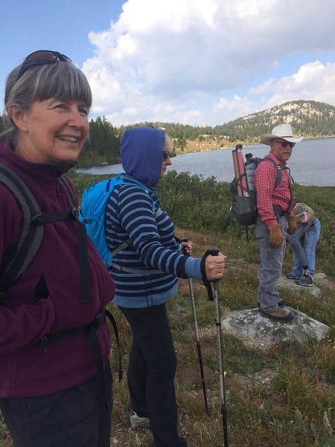 Beartooth hike with Tony and Sandy Linda