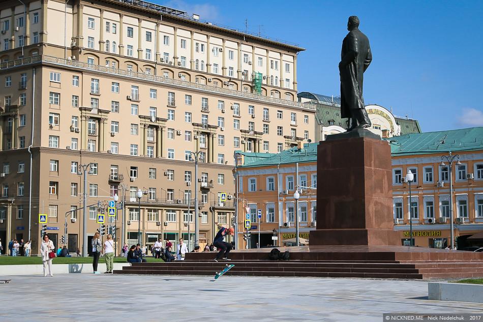 Площадь у Белорусского вокзала просто не узнать! IMG_4250