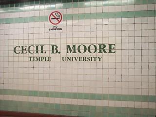 Cecil B Moore