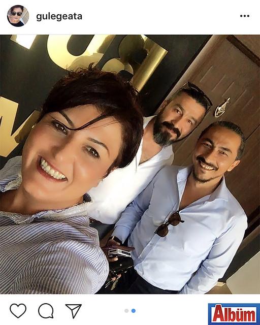 Asayiş Büro'nun gülen yüzü Gülderen Gülkara, ayın polisi seçilen komiser arkadaşları Aziz Bağcı ve Olcay Köseoğlu ile birlikte bu fotoğrafı paylaştı.